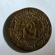 De necesidad y de guerra: monedas de la I Guerra Mundial Frankfurt-at-_Oder-r