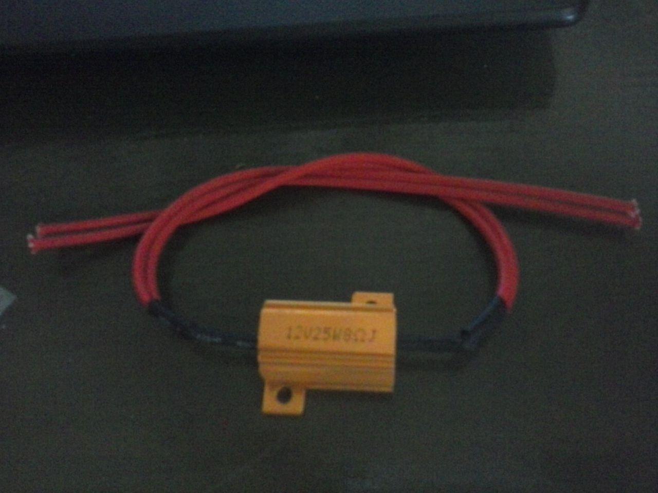 Resistencias para intermitentes leds CAM00400