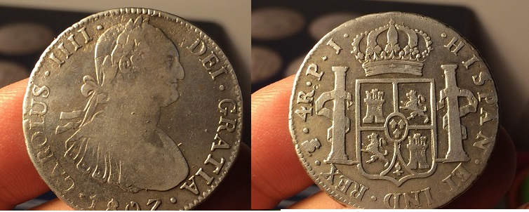 4 REALES CAROLUS IV 1807 Carous_IV_1807