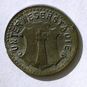 De necesidad y de guerra: monedas de la I Guerra Mundial Unterweserstadte-r