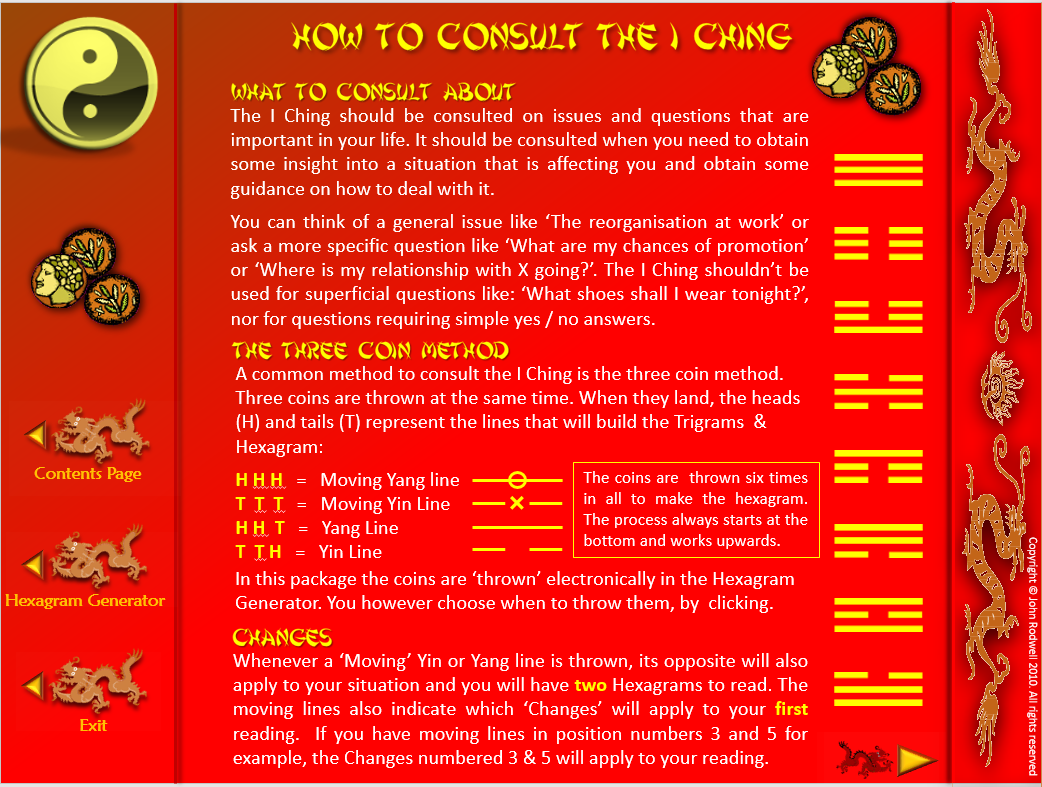 I CHING TODAY - Not exactly a game, but somthing you can use How_use