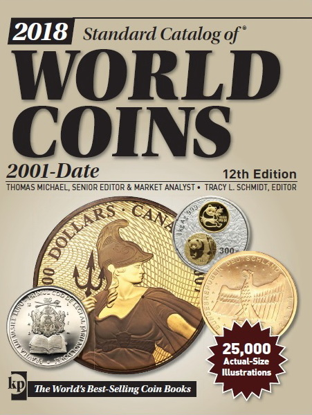 2018 Standard Catalog of World Coins - 2001-Date  Sin_t_tulo