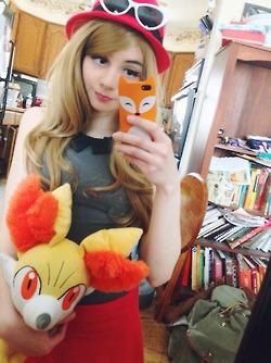Algunos buenos cosplays (disfraces) de pokemon Serena