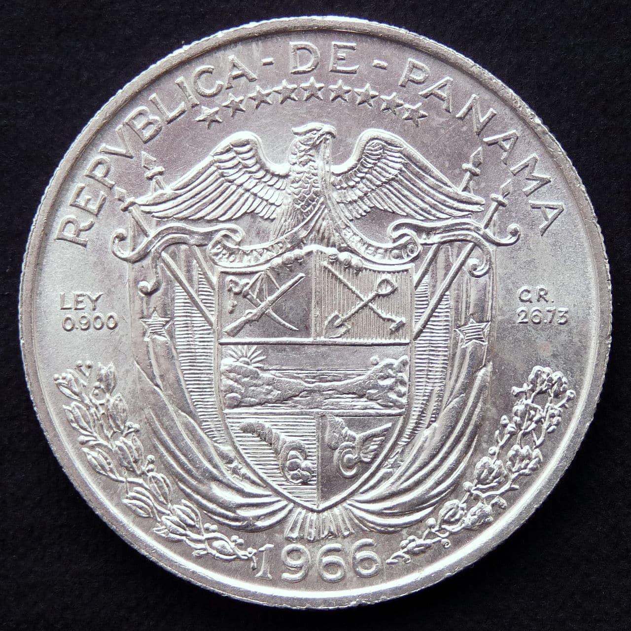 Un Balboa - Panamá - 1966 P1230584