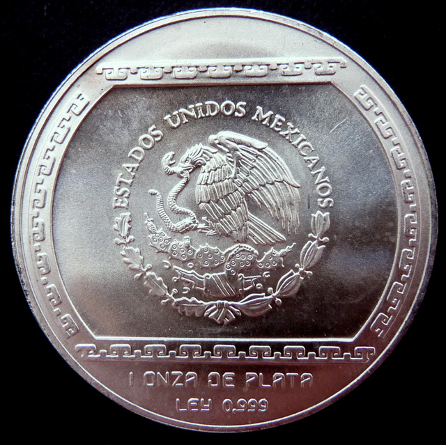 México - 5 Nuevos Pesos - Serie Precolombina Me_xico_N_5_r