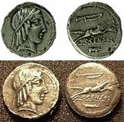 REPUBLICANAS - Página 2 Caius_Marcius_Censorinus_Roman_Republic_AR_Denar