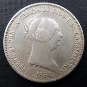 20 reales 1854. Isabel II. Sevilla (Dedicada al compañero Lanzarote) 20_reales-1854-ab