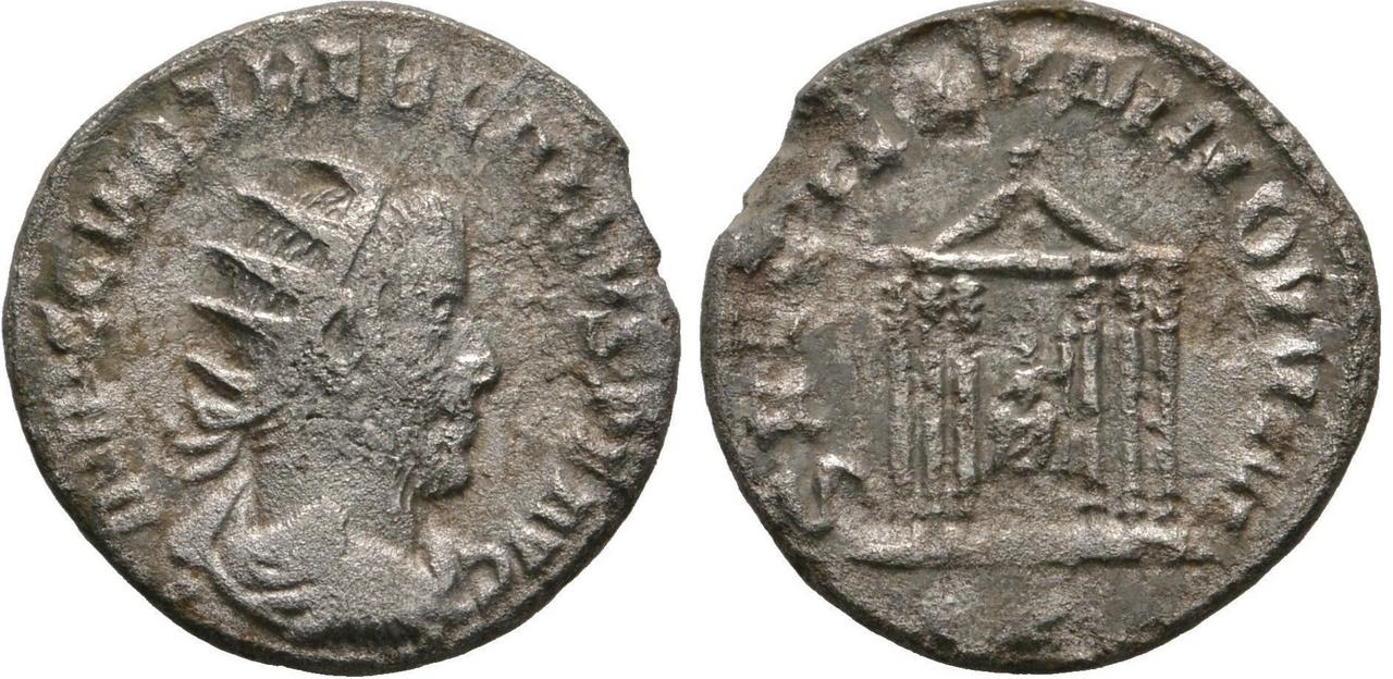 Antoniniano de Treboniano Galo. SAECVLLVM NOVVM Tgalo_saecvlum