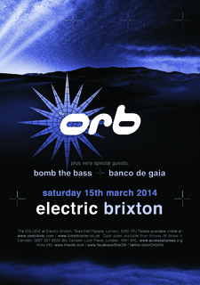 The Orb LIVE at Electric Brixton, London  15/03 The_Orb_brixton3