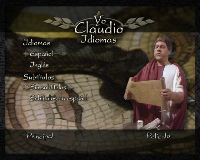 Yo, Claudio [5xDVD5Full+1xDVD9Full][PAL][Cast/Ing][Sub:Cast][1976][Drama] 2