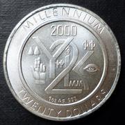 Liberia - 20 dollars Millennium - 1999 (4º aniversario en el foro) 20_dollars-1999-a