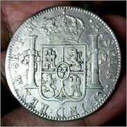 8 reales - Carlos IV - 1793 - México 8_reales_1793_r