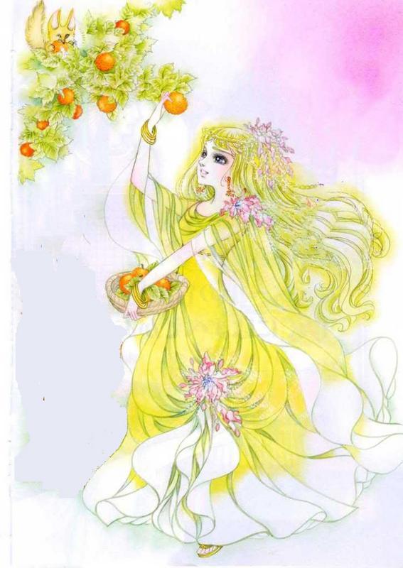 Hình màu Carol trong bộ cô gái sông Nile (Ouke Monshou) - Page 5 Carol_447