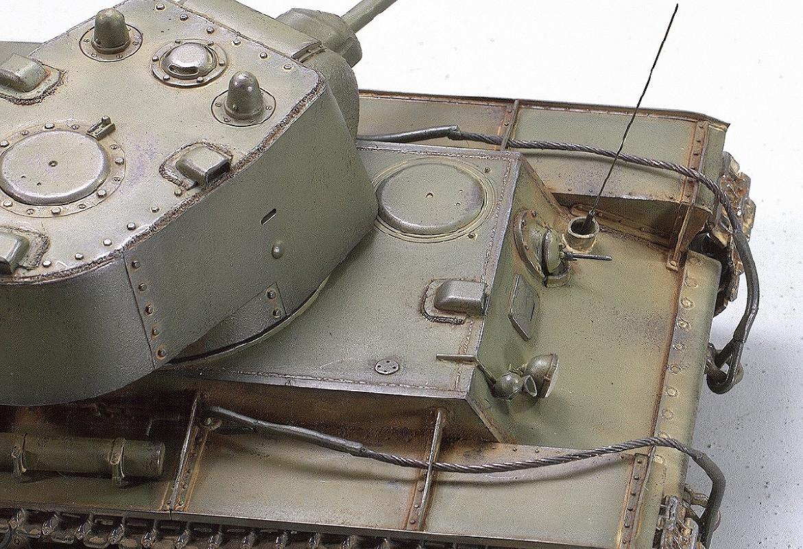 КВ-1. Ранний. 1940. Трумпетер 1/35. Image