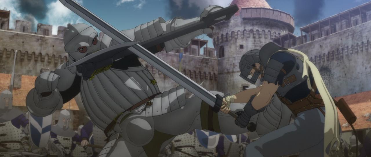 Berserk La Edad del Oro I El Huevo del Rey Conquistador [Cast/Jap] BDrip 1080p  Berserk_01_2