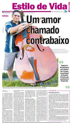 Roger Vargas lança CD Pucinella - contrabaixo acústico na Amazônia PGC1_2511