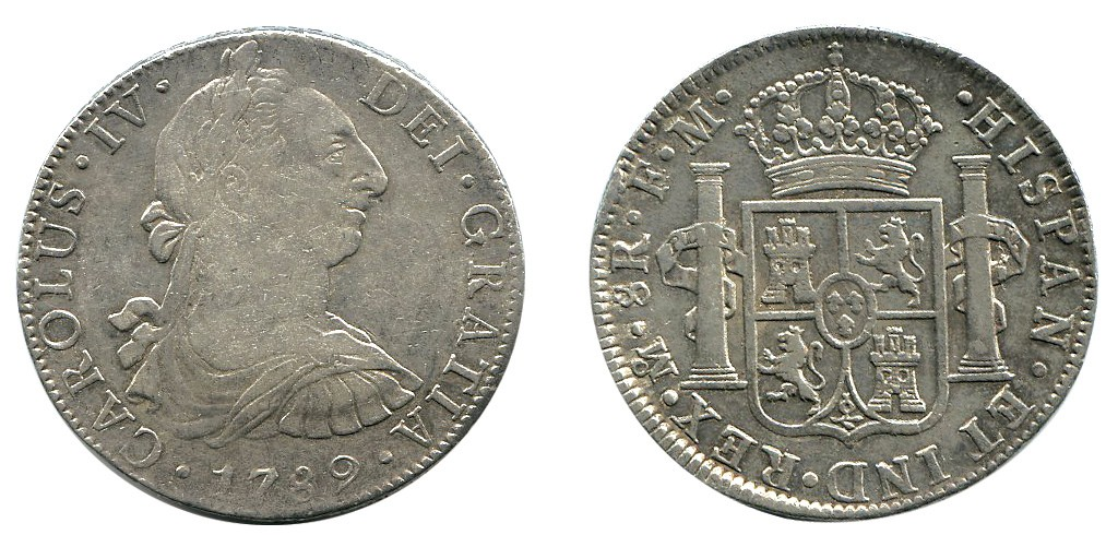 CAROLUS IV DE A8 1789 MEXICO 1479416l