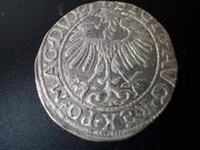½ Groschen 1.557, Segismundo II , Polonia. DSCN1651