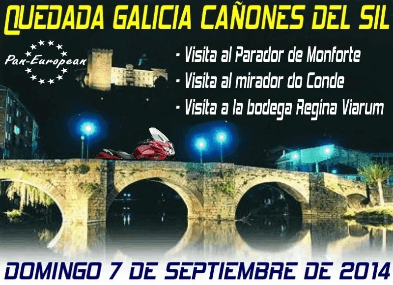 QUEDADA (GAL): Monforte de Lemos 07 Septiembre 2014 Cartel00