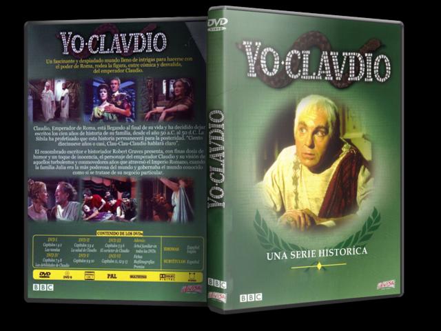 Yo, Claudio [5xDVD5Full+1xDVD9Full][PAL][Cast/Ing][Sub:Cast][1976][Drama] Portada
