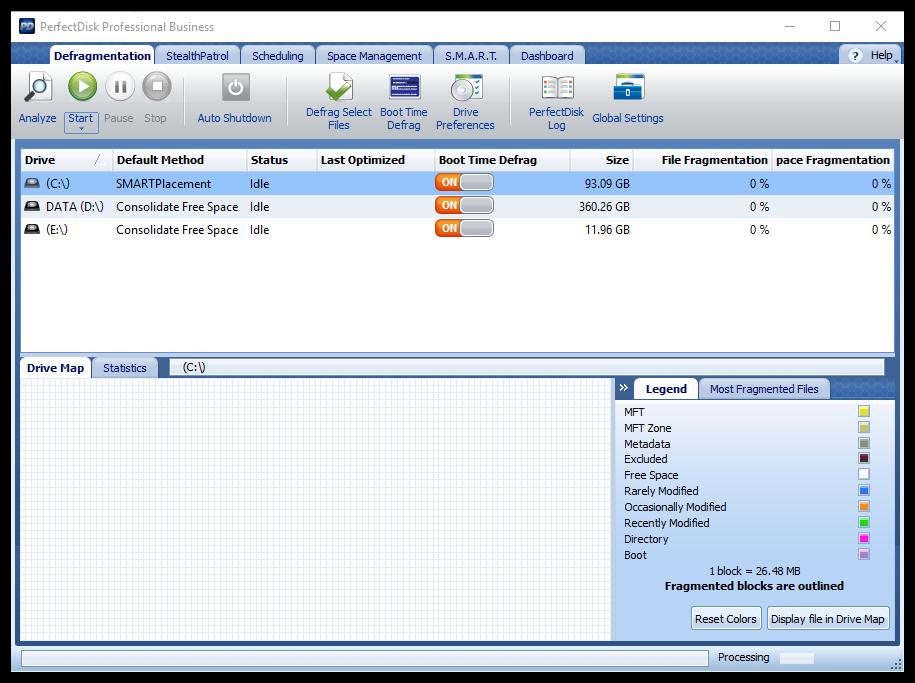 Raxco PerfectDisk Professional Business 14.0 Build 891 00703
