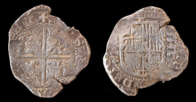 4 Reales macuquinos de Felipe IV, Sevilla año 1596. 57_10