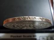 "1 Rublo de 1.831 variante "" 2 abierto "" , Rusia DSCN1735"