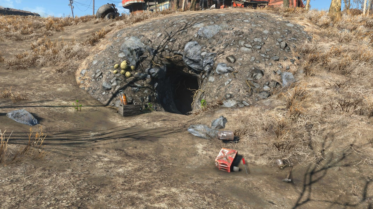 [MOD Fallout Forever] NewSanctuary. V2.7 (Terminado) Cueva