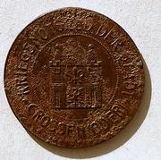 De necesidad y de guerra: monedas de la I Guerra Mundial Crossen-_Oder-r