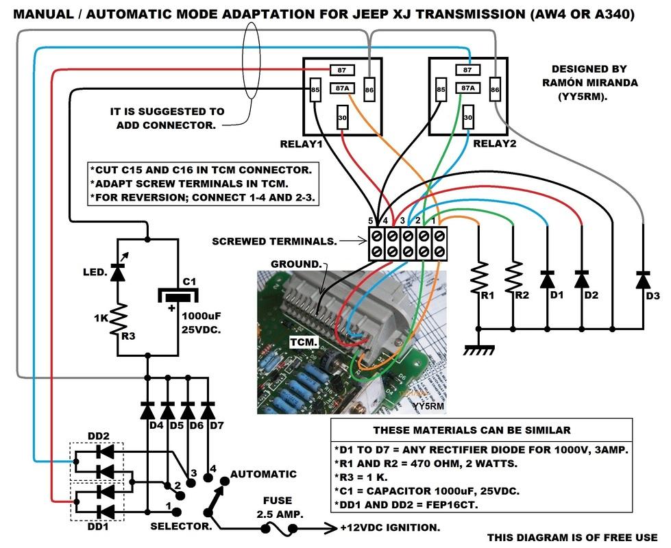 Manual para diagnóstico eléctrico de caja automática XJ 88-99 Automatic-_Manual-4