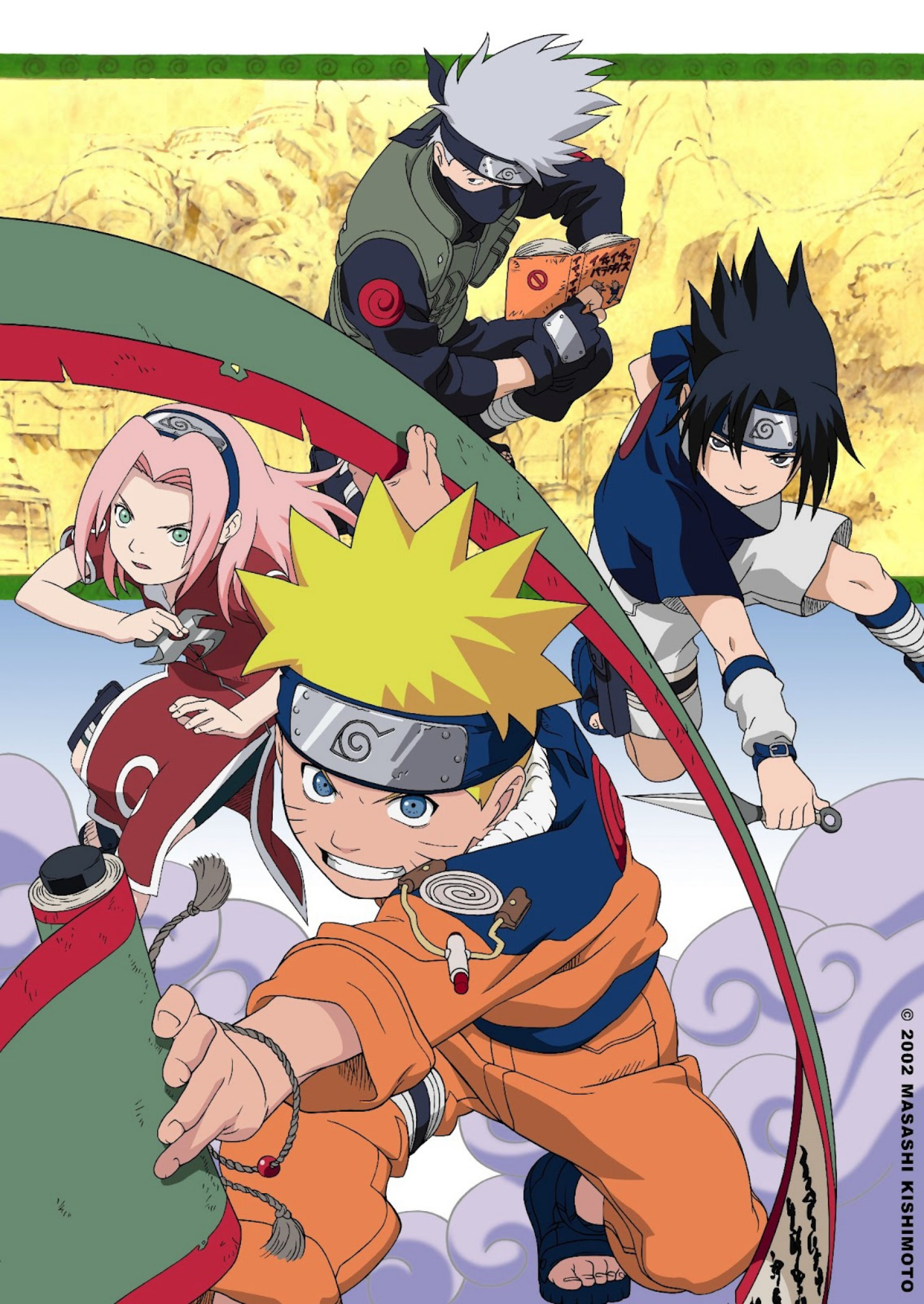 Naruto   DVDrip   Lat/Ing/Jap+Sub  30/220  MKV-960p   x264 Naruto