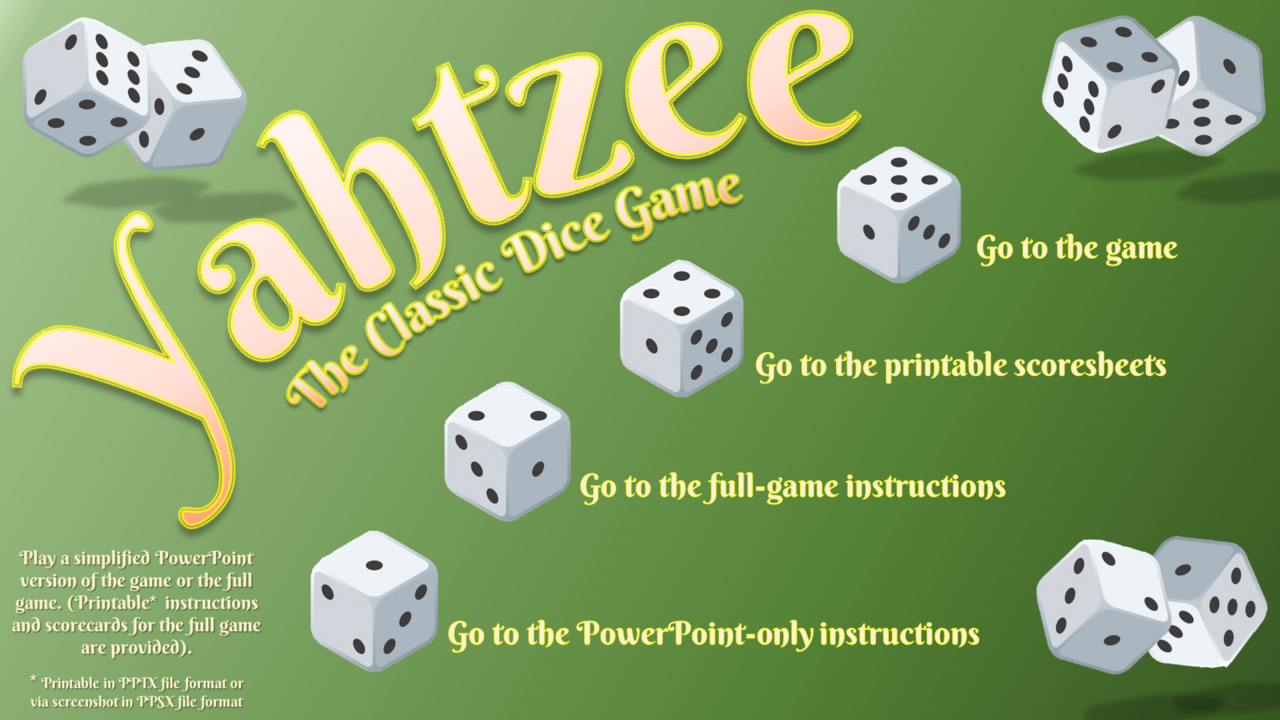 Yahtzee - The Classic Dice Game 2018-02-04