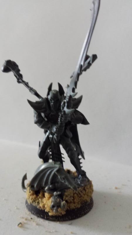 All Plastic Dark Eldar Incubusonbase
