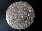 ½ Groschen 1.557, Segismundo II , Polonia. DSCN1653