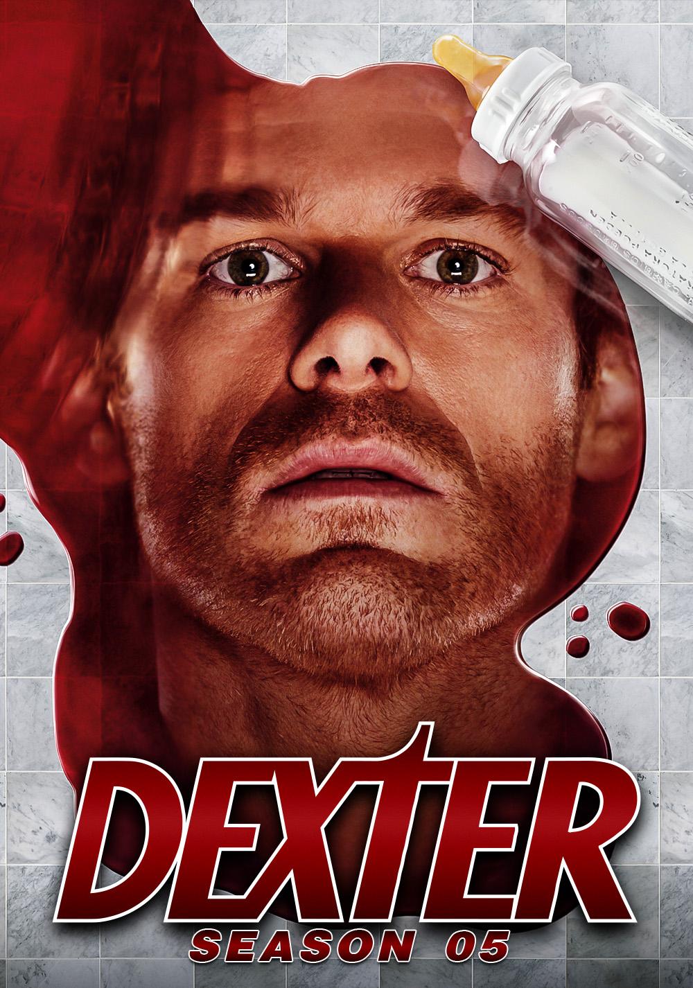 Dexter|Colección 1-8|Latino-Ingles|1080p|96/96|x265 10bit|+ Soundtracks  Season05-poster