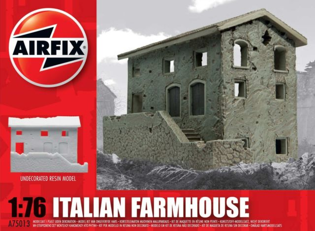 Project : Airfix Strongpoint  or Measure once , cut twice..the prototype. - Page 2 Farmhouse