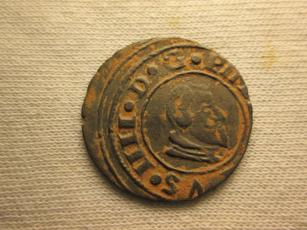 16 maravedís 166?. Felipe IV, Cuenca IMG_1120