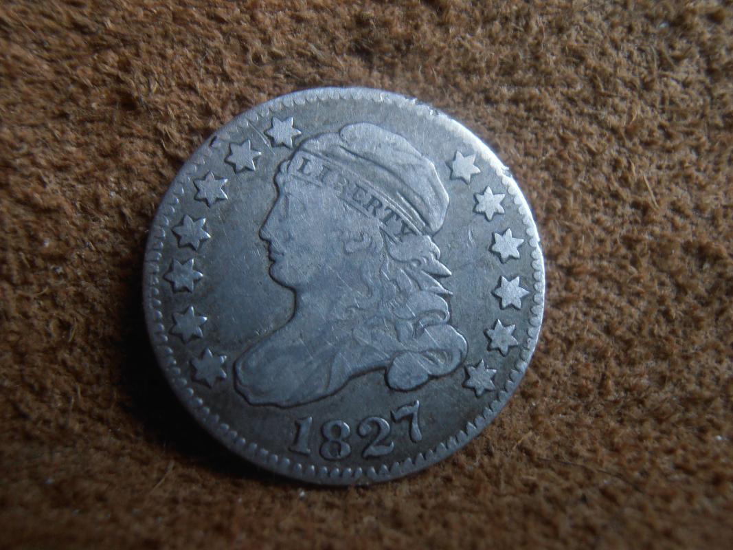 10 centavos Estados Unidos de América 1827  P9280010