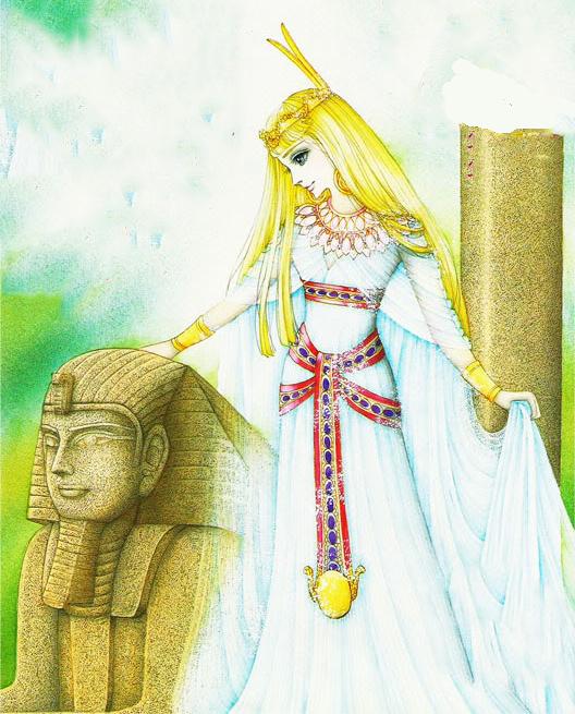 Hình màu Carol trong bộ cô gái sông Nile (Ouke Monshou) - Page 5 Carol_405