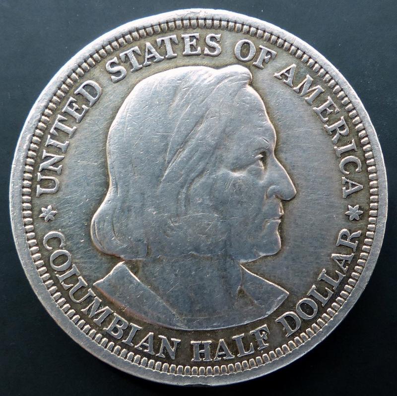U.S.A. - Half Dollar - 1893 - Columbian Exposition Half_Dollar_a