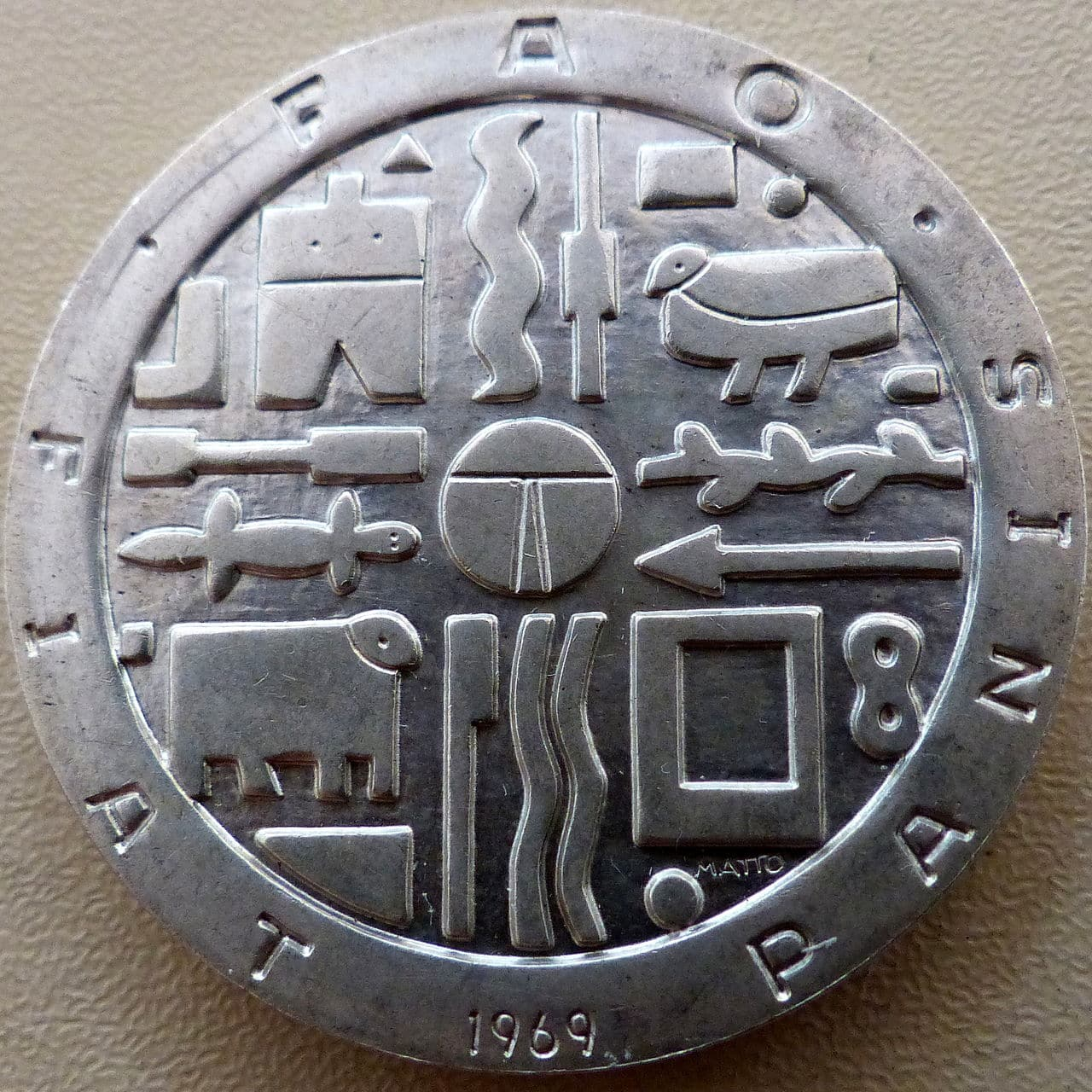 Uruguay - Mil pesos 1969 - FAO - Variante lágrima Mil_pesos_FAO_r