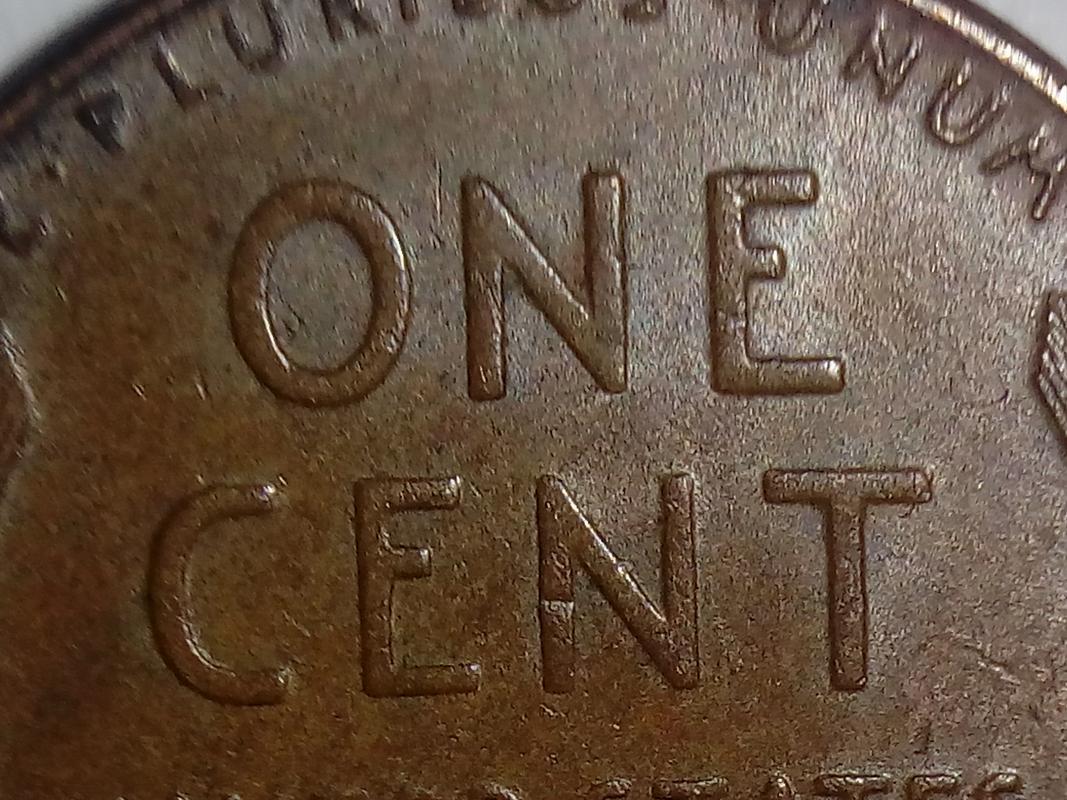 """Centavo de dólar de 1946 POSIBLE ERROR DE ACUÑACIÓN EN LA N DE """"CENT"""" DSC_0210"""