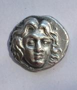 Rhodas, Dracma. 229-205 a. C. Magistrado Aminias. IMG_0961