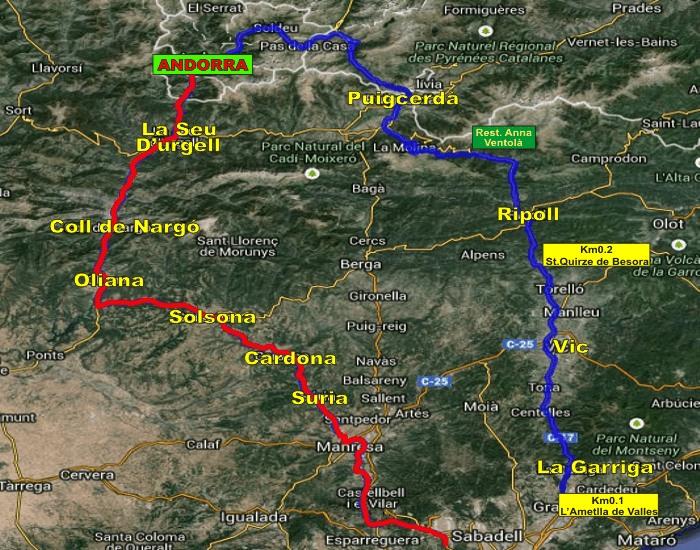 QUEDADA (CAT): Fin de semana en Andorra 28 y 29 Marzo 2015 And_Mapa
