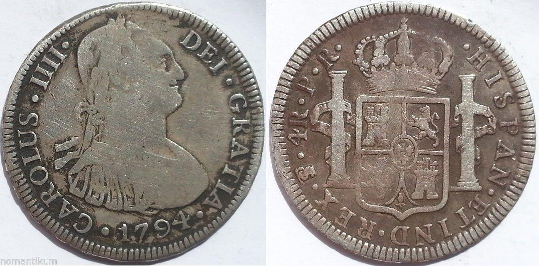4 reales carolus IIII Image