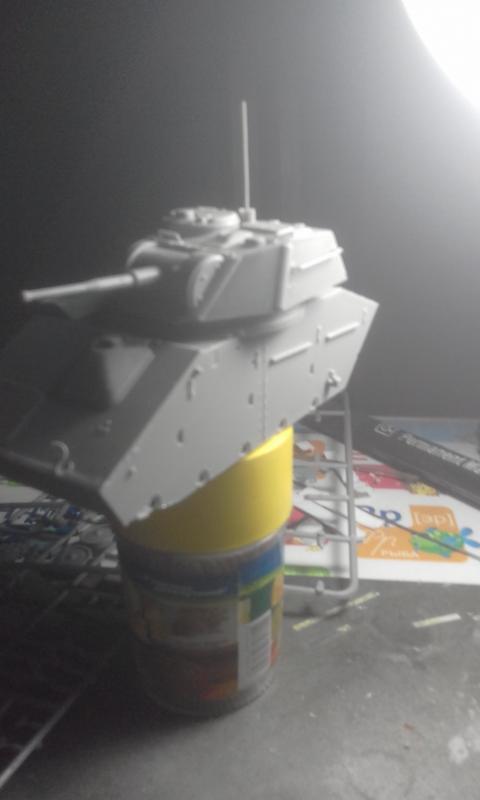 Легкий танк т80.  MiniArt 20180511_161256