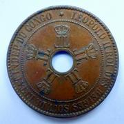 Estado libre del Congo 10_cts-1888-r