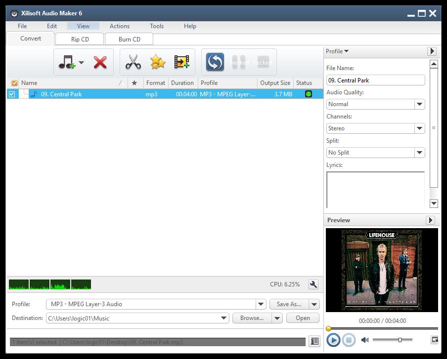 Xilisoft Audio Maker 6.5.0 Build 20170209 Multilingual 00753