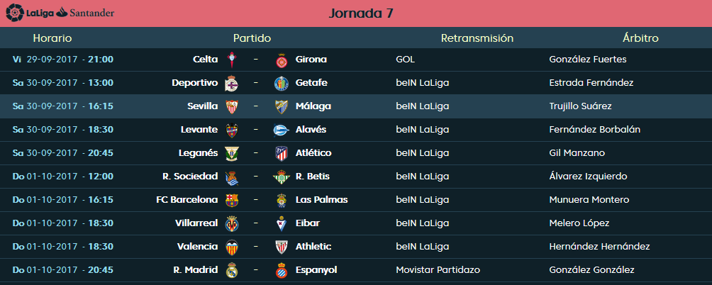 LIGA J7ª: SEVILLA FC vs MALAGA CF (Sab 30 Sep 16:15 / BeinSport) MCF_PARTIDO_3