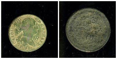 8 maravedis de carolus IIII 1790 12_4